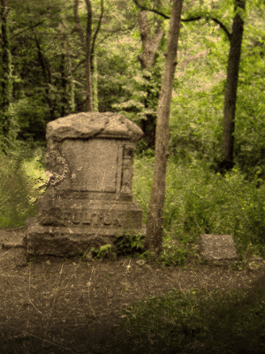 bachelor's grove cemetery haunted places