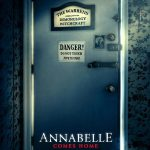 annabelle comes home horror movie poster