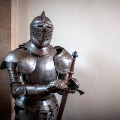 Old Knight Armor